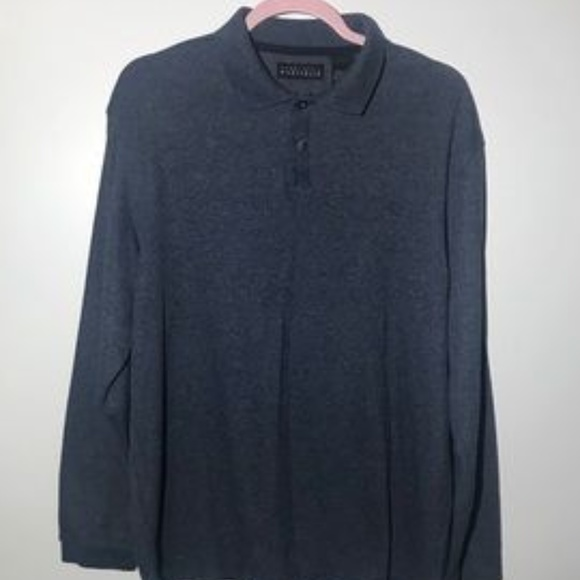Other - L/S Grey Polo